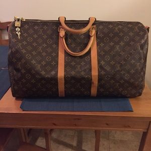 Louis Vuitton Keepall Monogram Duffle Bag